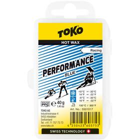 Toko Performance Hot Wax Blauw 40g